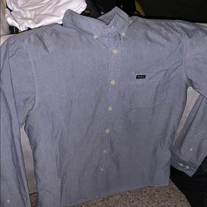 RVCA Long-Sleeved Button-Up Shirt